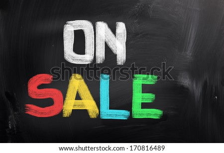 On Sale Concept - stock photo