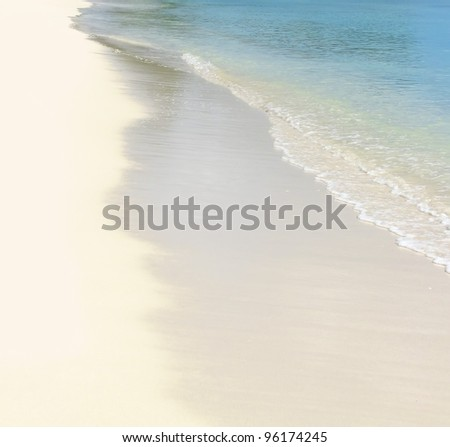On the beach concepts - stock photo