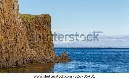On the edge of the cliff - Westcoast of Iceland