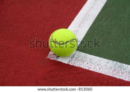 On the Line - stock photo