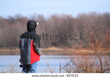 On the lookout - stock photo