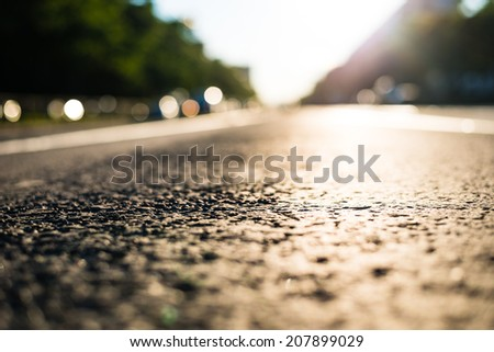 On the road - stock photo