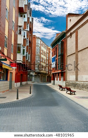 On the streets of Valladolid. Spain