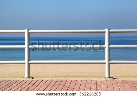 On the waterfront - stock photo