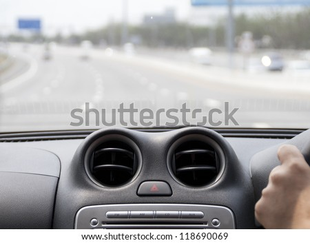 On the way - stock photo