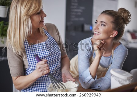 On this stage you have to mix all the time - stock photo