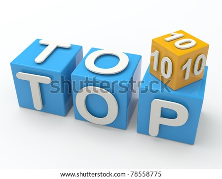 On Top Of - stock photo