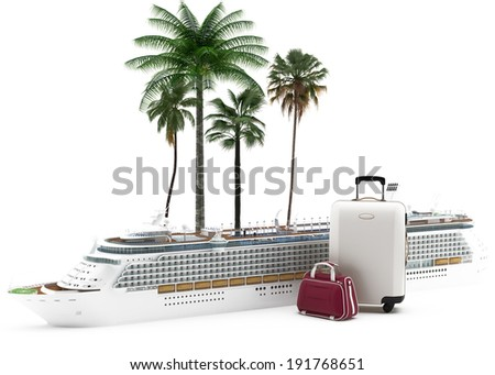 On Vacation - Tourism - stock photo