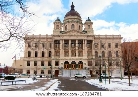 Onandaga County Courthouse in Syracuse NY - stock photo