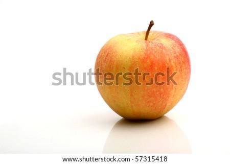 one apple - stock photo