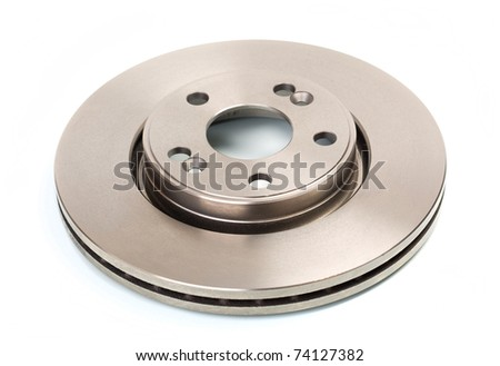 One brake disk for the car - stock photo