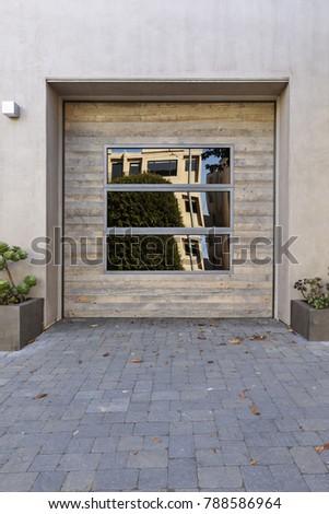 One Car Garage Door Stock Photo Edit Now 788586964 Shutterstock