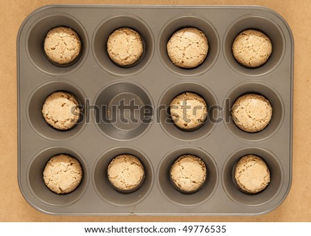 one cookie is missing - stock photo