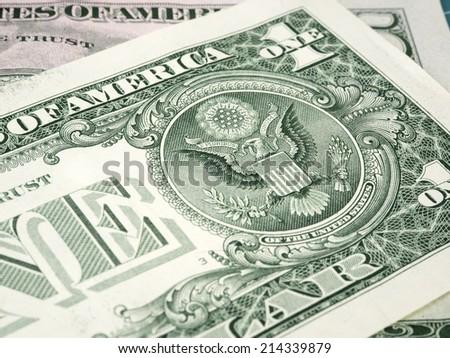One dollar - stock photo