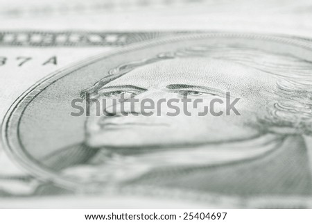 one dollar background