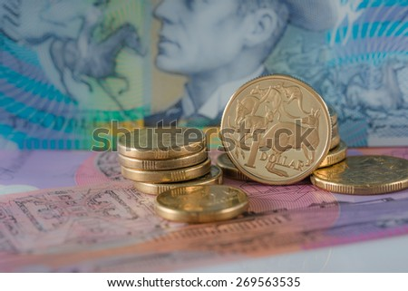 One Dollar Coin - Australian Currency