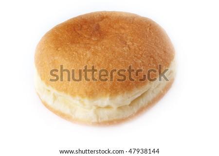 One doughnuts isolated - stock photo