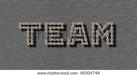 One for all and all for one - stock photo