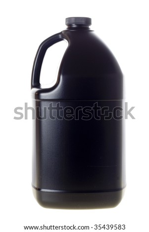 One gallon container - stock photo