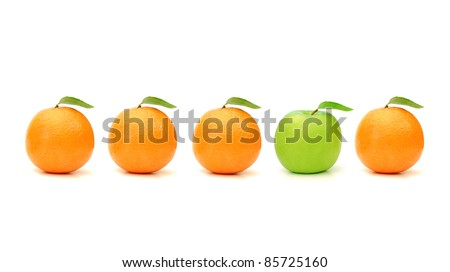 One of a kind - stock photo
