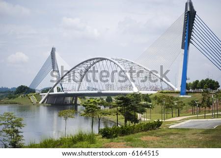 One of the Bridge at Putrajaya, Malaysia - stock photo