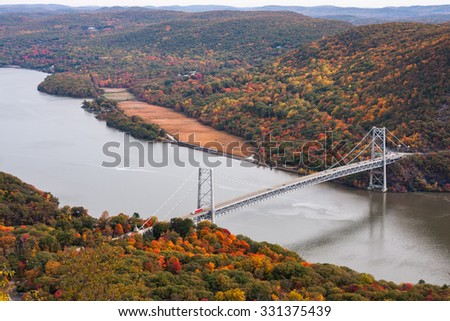 One of the most spectacular views in the Hudson Valley taken from Bear Mountain.