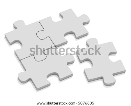 One separate - stock photo