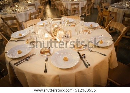 One Table setting