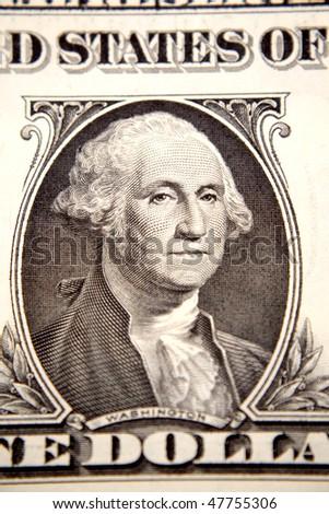 One U.S. dollar - stock photo
