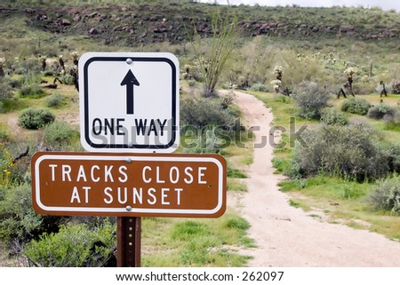 One Way Trail