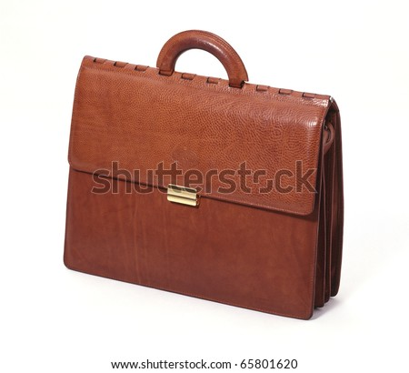 one work bag isolated on white background