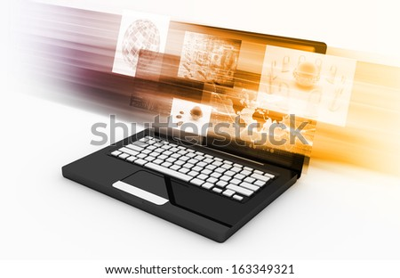Online Advertising Options on a Budget in Internet - stock photo