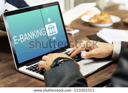 Online Banking Payment Finance Concept