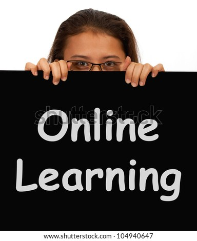Online Learning Message Shows Web Learning