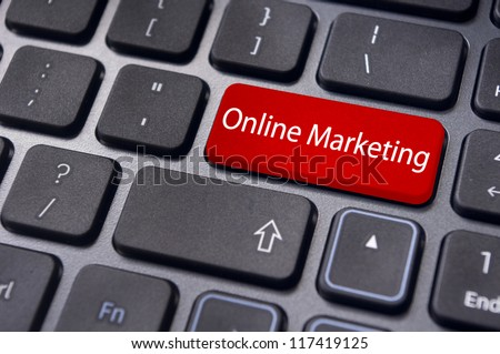 Stock Images Online online marketing or internet