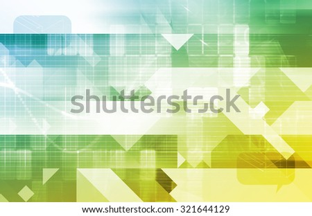 Online Multimedia Creative as a Art Background - stock photo