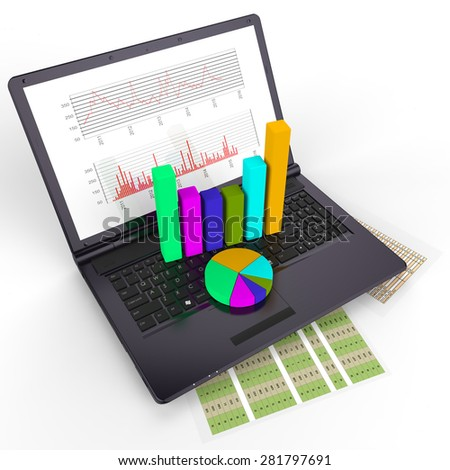 Online Reports Representing World Wide Web And Business Graph