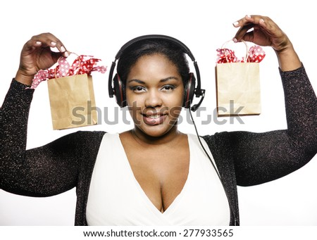 Online sales - stock photo