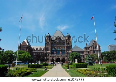 Ontario Legislature - stock photo