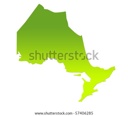 Ontario Map Stock Images RoyaltyFree Images Vectors Shutterstock - Ontario canada map