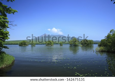 Onuma Quasi-National Park - stock photo