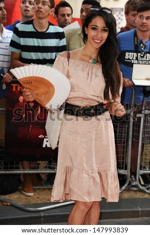 Oona Chaplin arriving for the UK Premiere of Red 2, at Empire Leicester Square, London. 22/07/2013