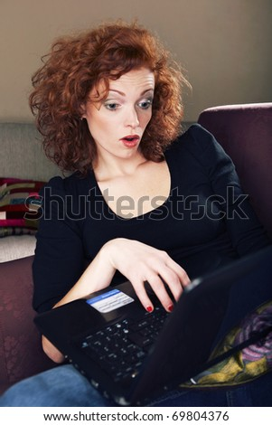 Oops, disconnection - stock photo