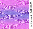 Op Art Big Waves Multiple Blue And Magenta Seamless - stock photo