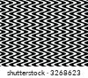 Op Art Black and White Waves One - stock photo