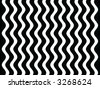 Op Art Black and White Waves Two - stock photo