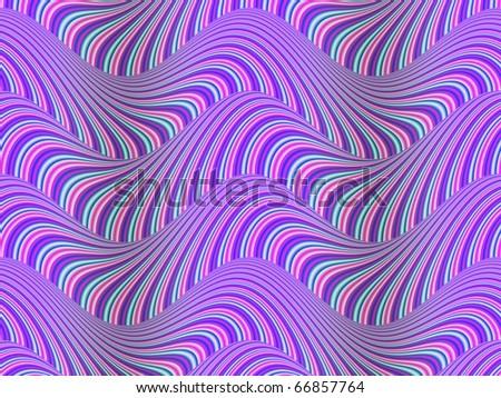 Op Art Flowing Stripes 01 49 - stock photo