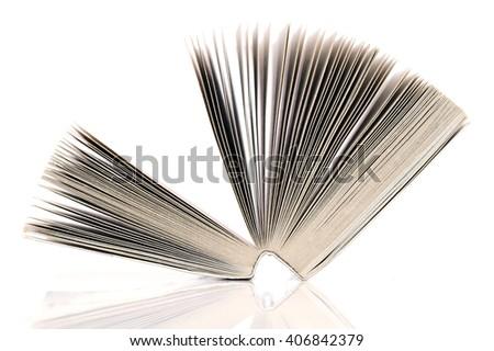 Open book. - stock photo