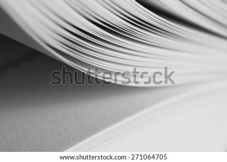 open book abstract - stock photo