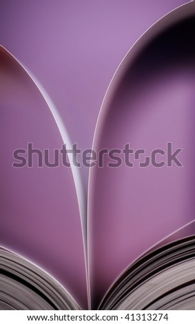 open book abstract